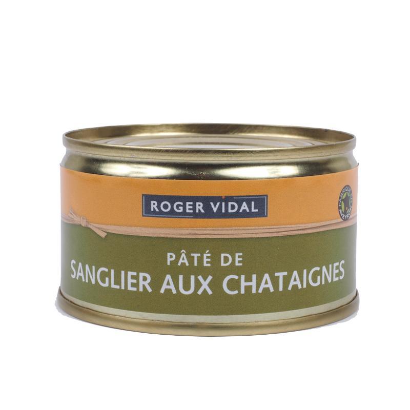 PATE DE SANGLIER AUX CHATAIGNES 125G - Epicerie salée
