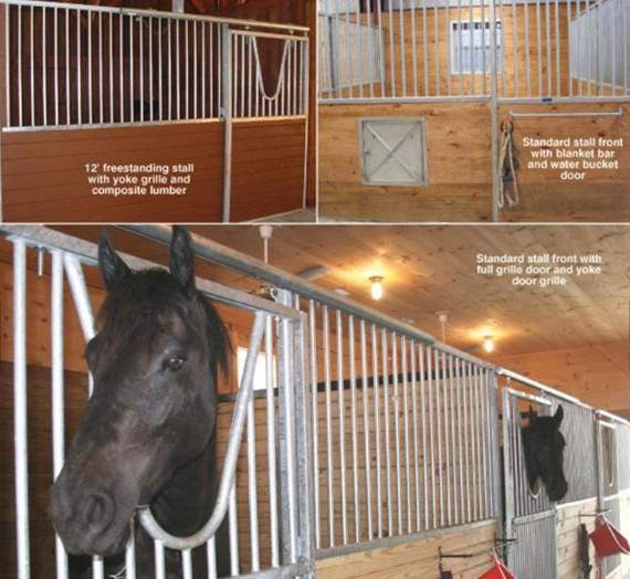 Horse Stall/Stable/Shelter - European Internal Portable Horse Stall Panels
