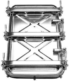 Portes extérieures rectangulaires - Portes rectangulaires 310 / 420 ou 400/530 - null