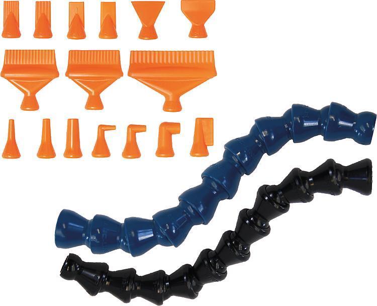 Coolant hose LOC-LINE® Flexi - Feeler gauge strips - Magnetic labels - Envelopes Protective nets