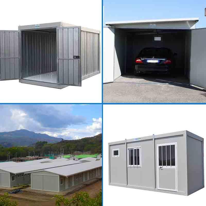 Monoblocchi Container Box Prefabbricati Coibentati