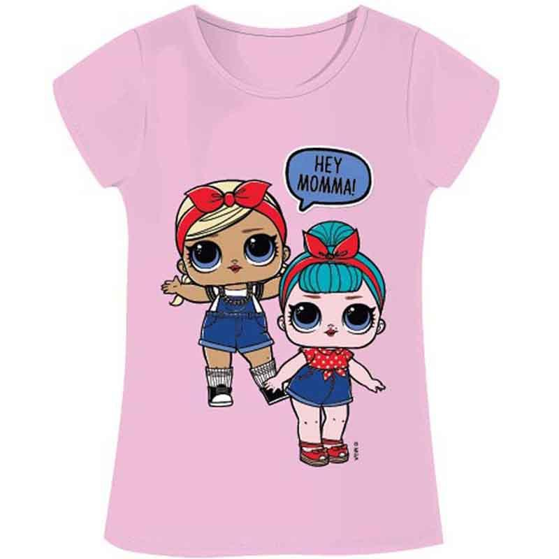 Distributor T-shirt kids LOL Surprise - T-shirt and polo short sleeve