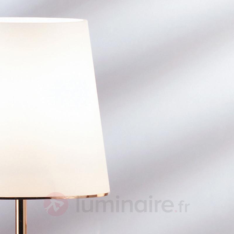 Lampe à poser Konus 45 cm avec abat-jour en verre - Lampes à poser classiques, antiques