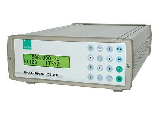 精准模拟器 - 4530 - 精密模拟器,RTD校准,便携式,简单菜单导航
