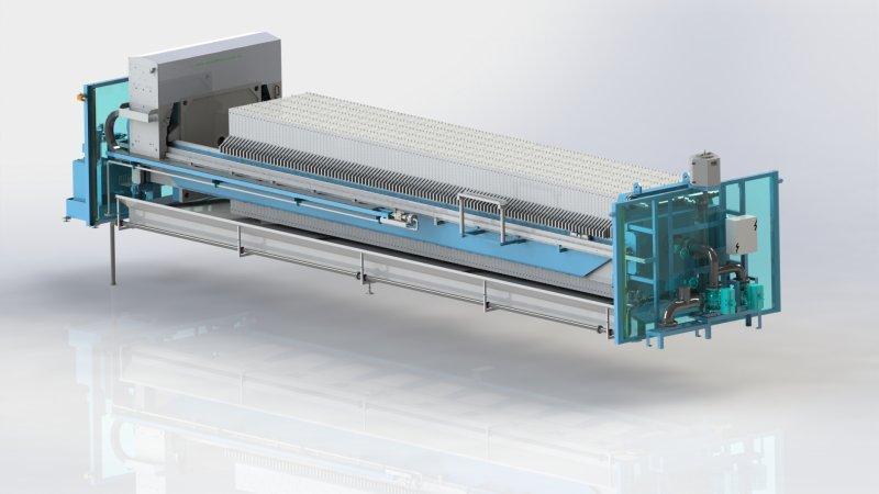 El filtro prensa de cámara - El filtro prensa de cámara: un tratamiento de lodos económico y eficiente