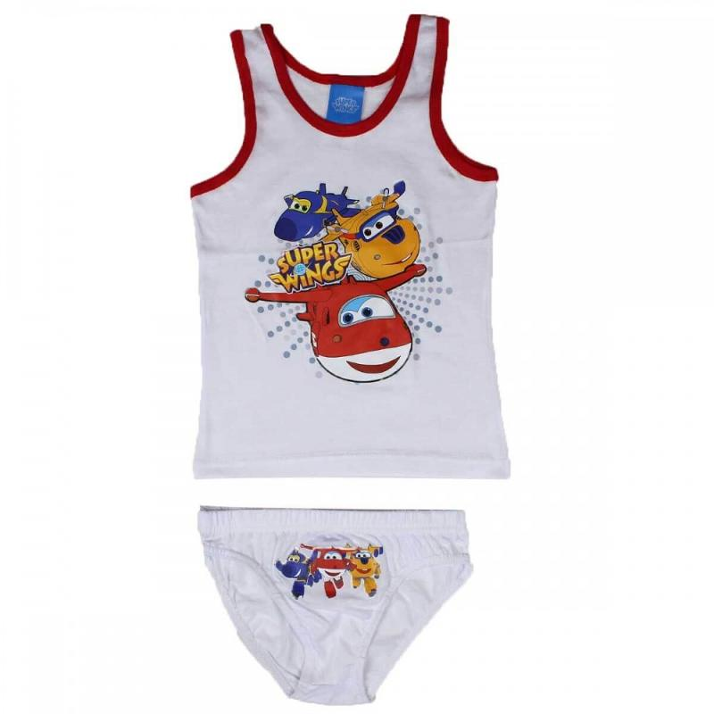 12x Ensembles 2 pieces Super Wings du 2 au 8 ans - Sous-vêtement