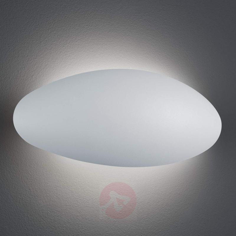 LED outdoor wall light Missouri, white - outdoor-led-lights