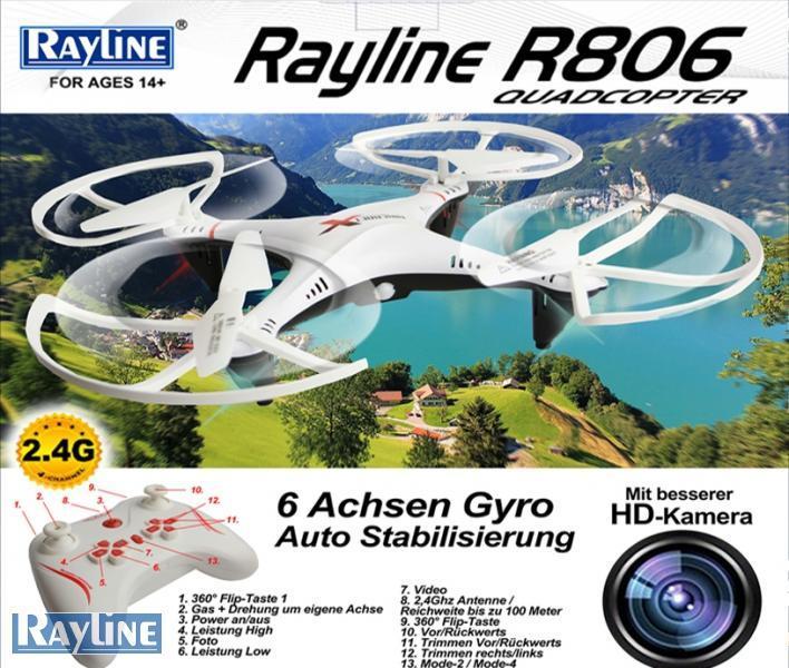 RC Ware anderer Hersteller RC Quadrocopter - R806