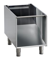 Cooking line 900 First Choice - open cabinet for tabletops w=450mm