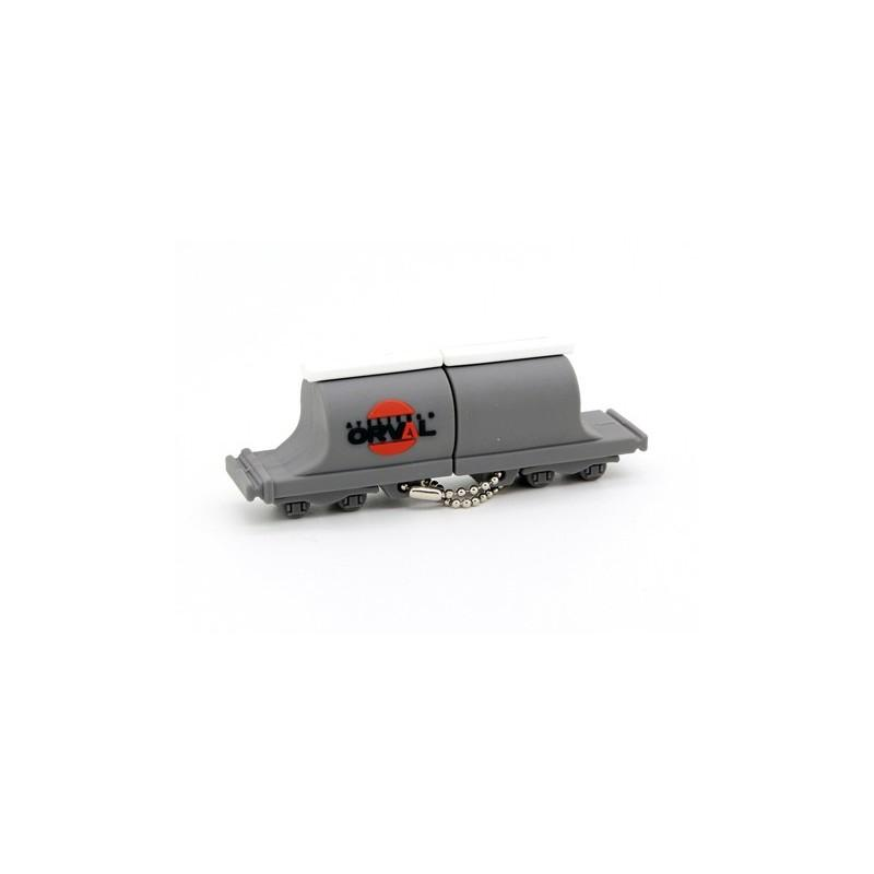 Cle USB Wagon - Clé USB Originales PVC