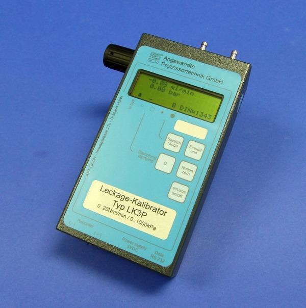 Leak calibrator LK3P - Manuel mass flow device