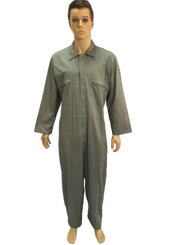 coverall with steel buckle belt