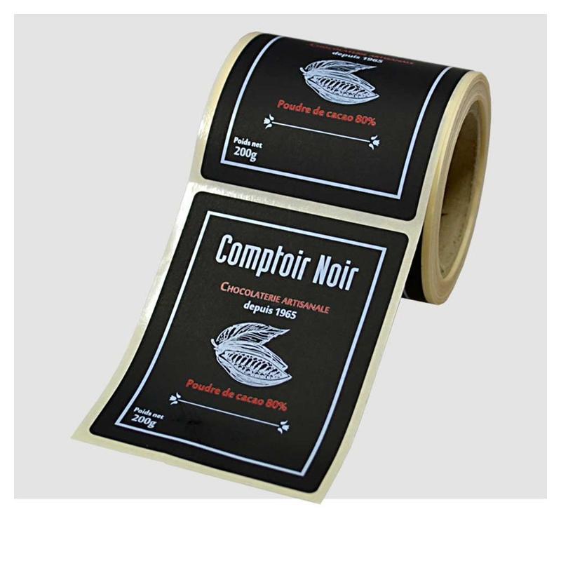 Étiquettes noir intense - Étiquettes haut de gamme