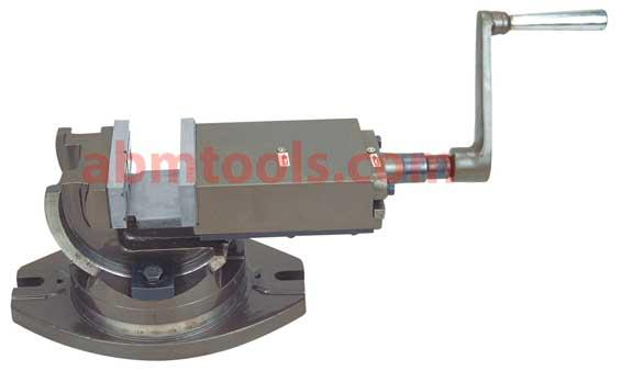 2 Way Universal Tilting & Swiveling Angle Vice - Positive locking to withstand heavy loads.