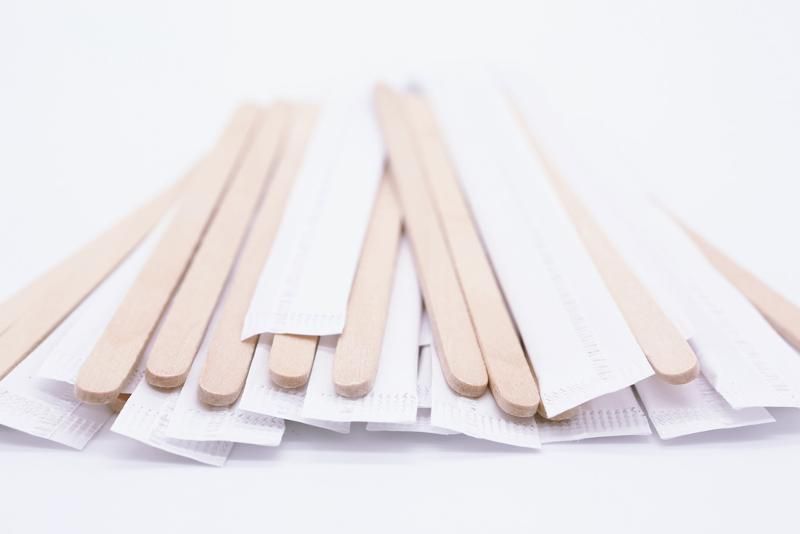 Wooden Stirrers (horeca) Individually Paper Wrapped - null