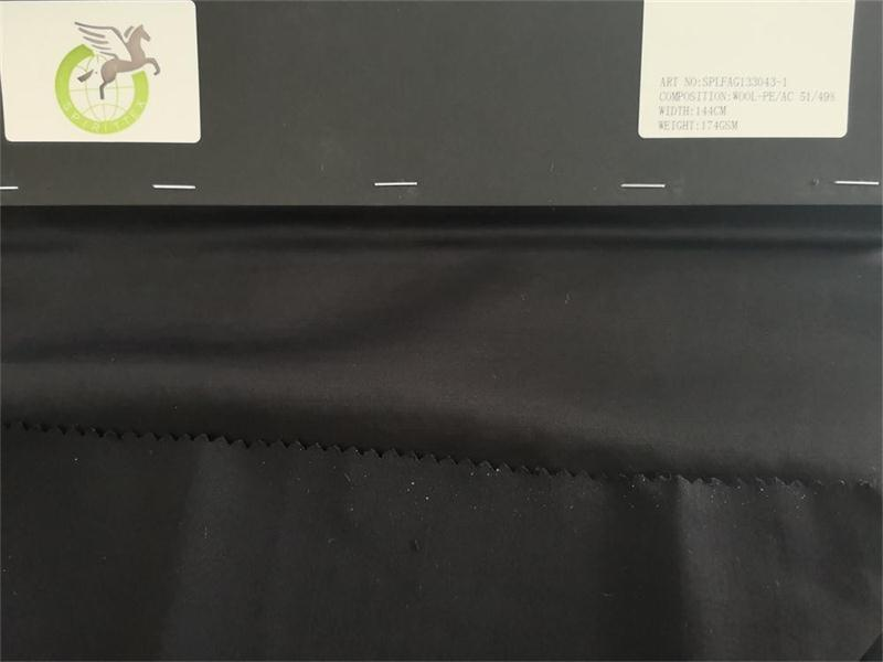 wool blend polyester blend acetate fabrics - wool blend polyester blend acetate ,is very luxury fabrics for lady dress