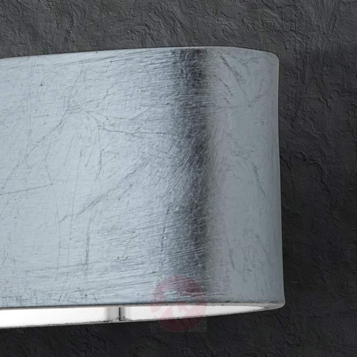 Anica LED Wall Light Old Silver Colour - Wall Lights