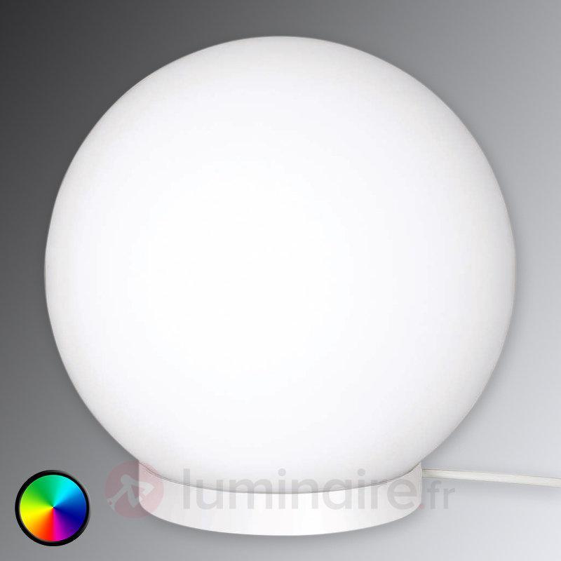 Lampe LED à poser boule Glam avec télécommande - Lampes à poser LED