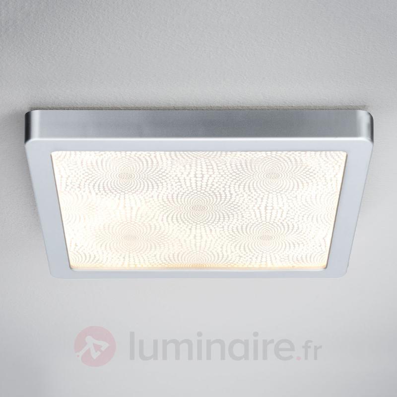 Plafonnier LED de salle de bain carré Ivy, 14 W - Salle de bains