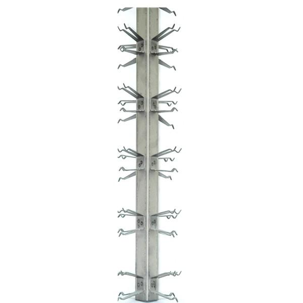 Anodic Aluminium Racks - YG aluminium welded - Anodizing Rack Alu welded 4 Sides - Anodizing Rack welded 4 Sides YG56