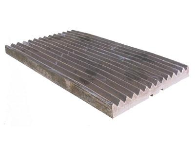 Jaw plate - null