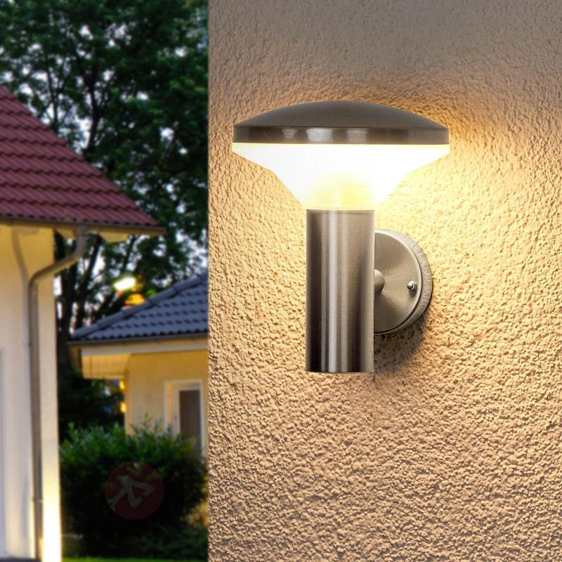 Applique extérieure inox Jiyan LED - Appliques d'extérieur LED