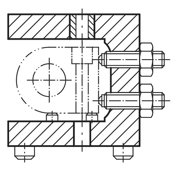 Profil en U Fonte grise et aluminium - Profilés