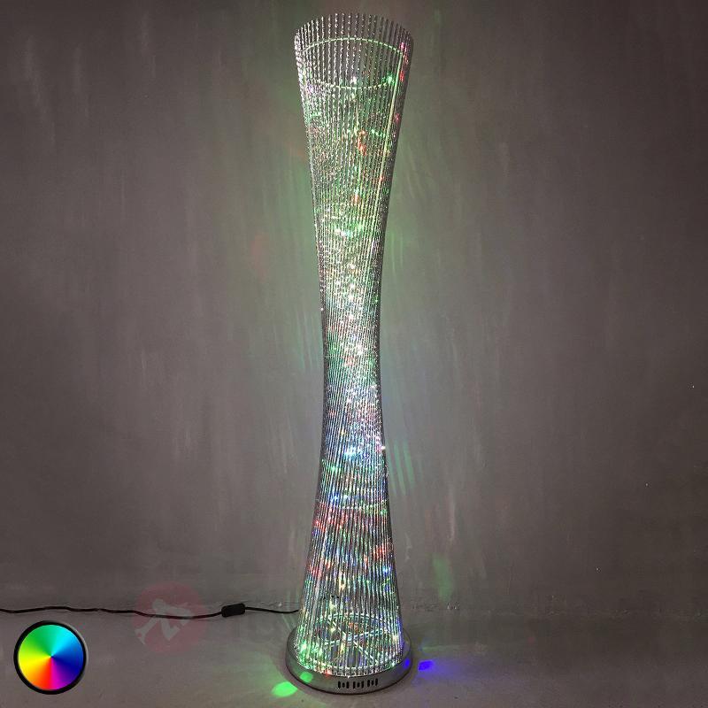 Lampadaire LED Philia RVB, très belle manufacture - Lampadaires LED
