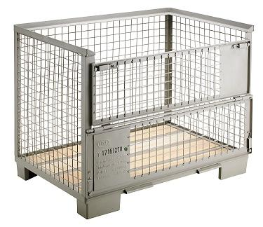 Gitterbox  - Foldable (Collapsible) Mesh (Wire) Box Pallet (Stillage)