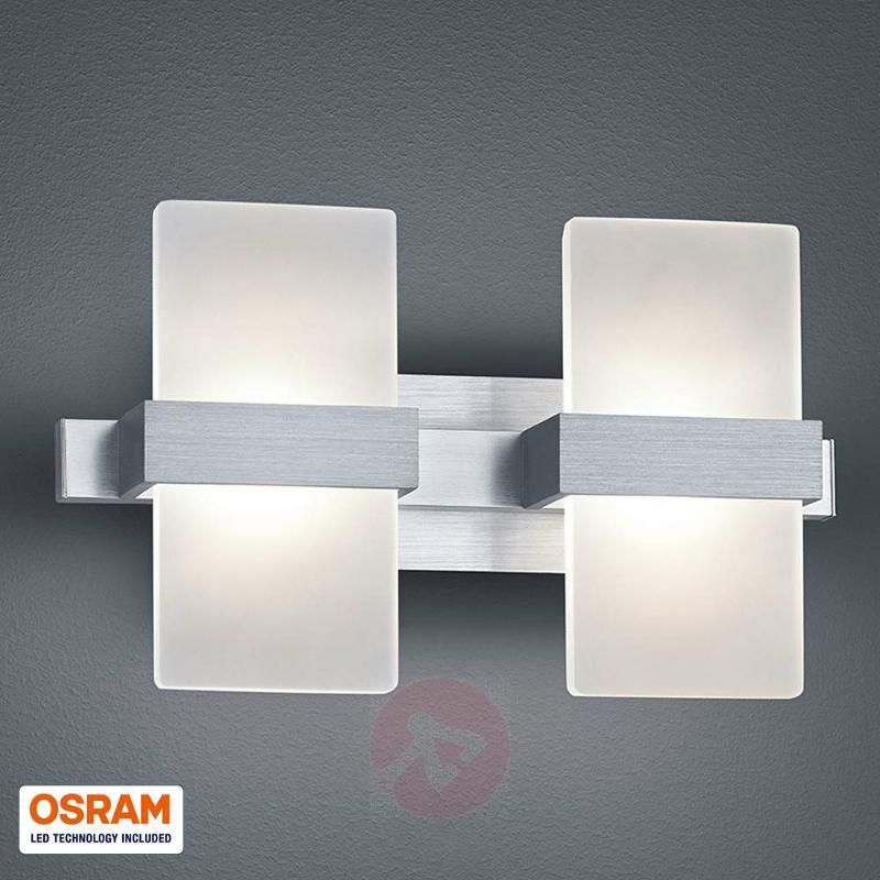 Trendy 2-bulb LED wall light Platon - Wall Lights