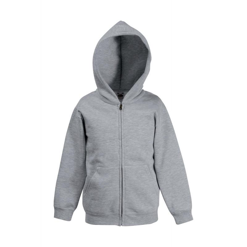 Sweat shirt enfant zip - Avec capuche