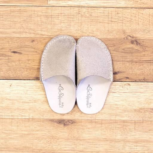 Grey CP Slippers Kids