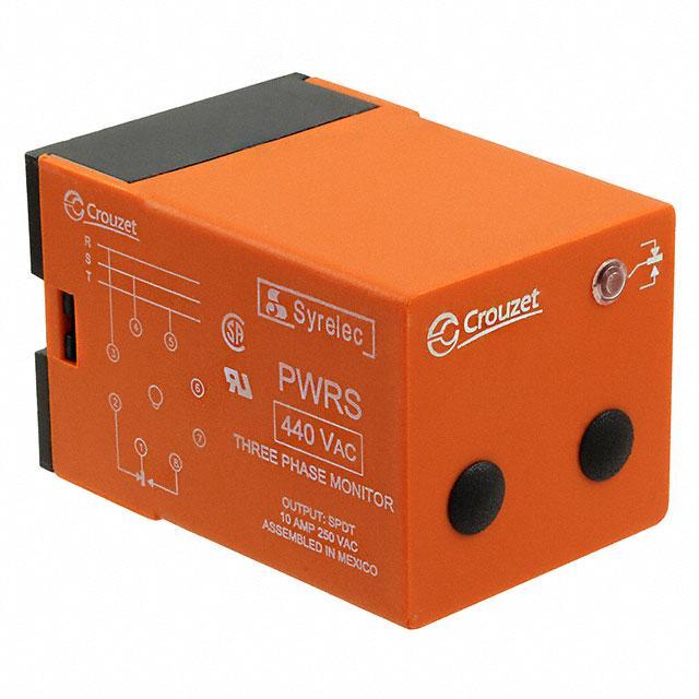 CONTROL RELAY PHASE 3X440VAC - Crouzet PWRS440A