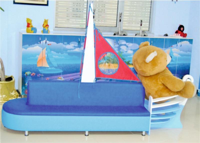Gemi Figürlü Oturak