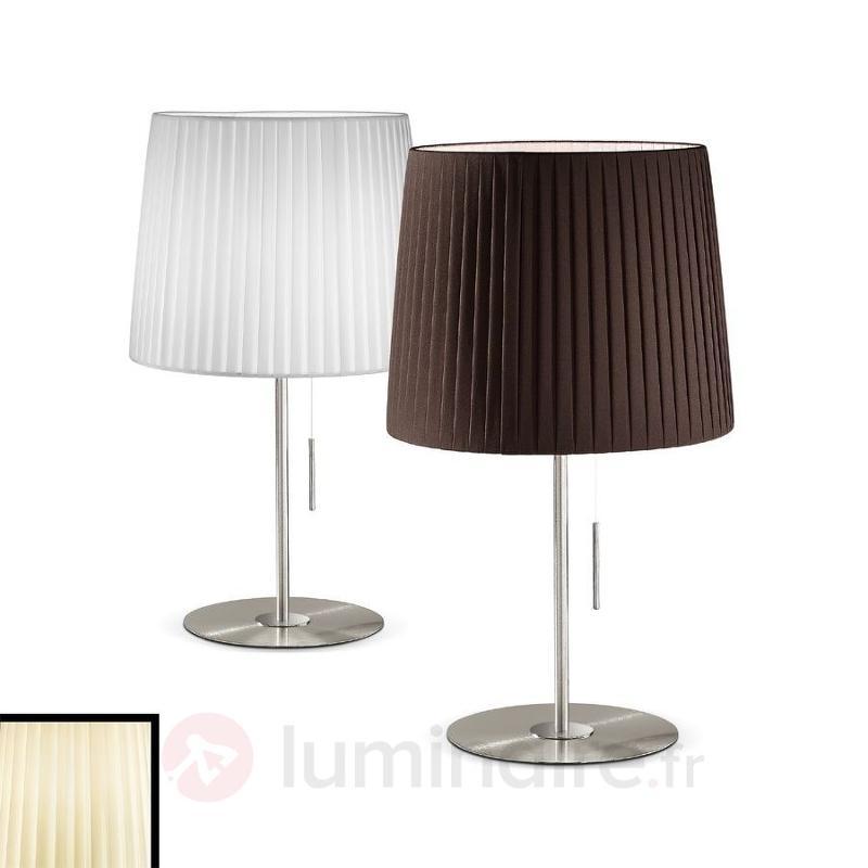 Lampe à poser design plissée Dorotea très élégante