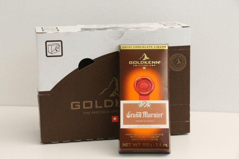 Goldkenn Swiss Milk Chocolate Filled With Grand Marnier