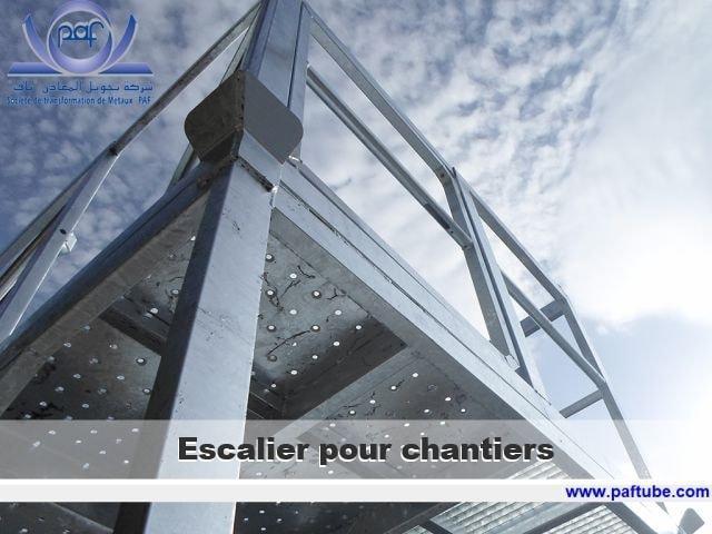 Escalier pour chantiers confort - Escalier pour chantiers confort
