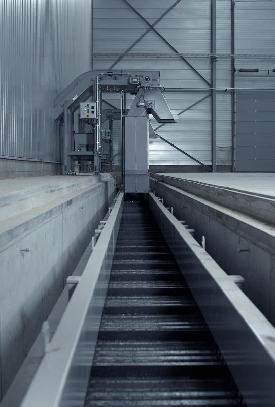 4 INCH STEEL BELT CONVEYOR