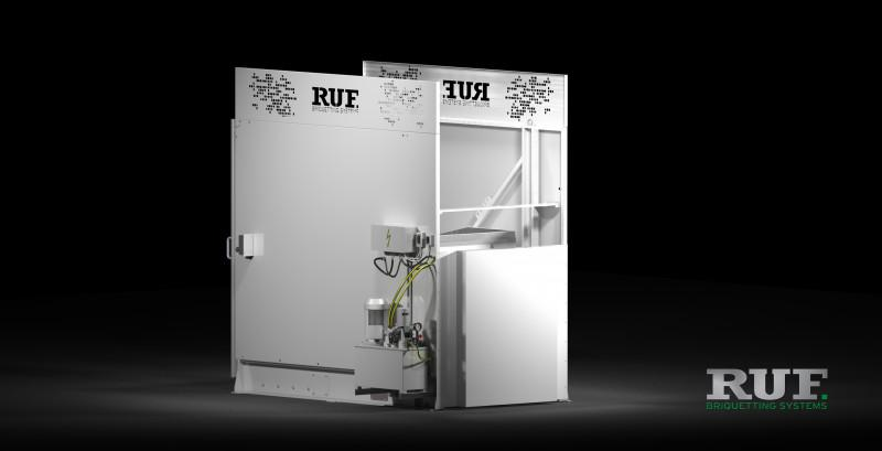 RUF Periphery: lifting and tilting device - RUF lifting and tilting device discharging of feeding carts with bulk materials