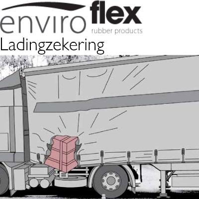 Ladingzekering rubber Regupol 7210 LS plus - Effectieve en duurzame transport antislipmat