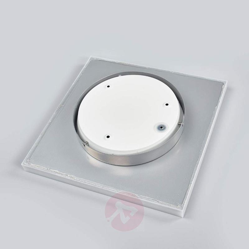 Simple LED ceiling lamp Levik, IP44 - Ceiling Lights