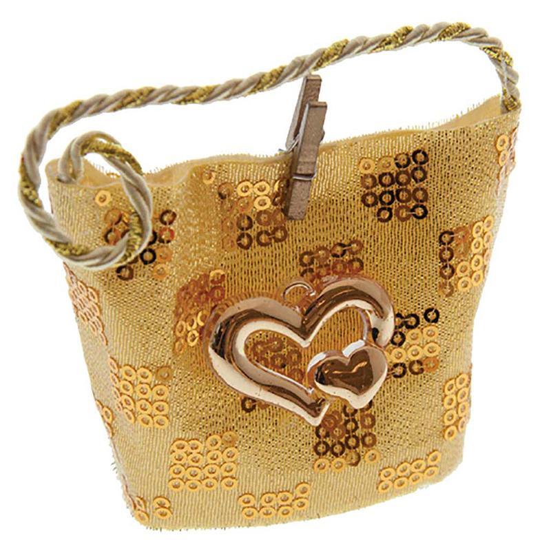 Bag Silver or Gold - Wedding Favor celebration gift