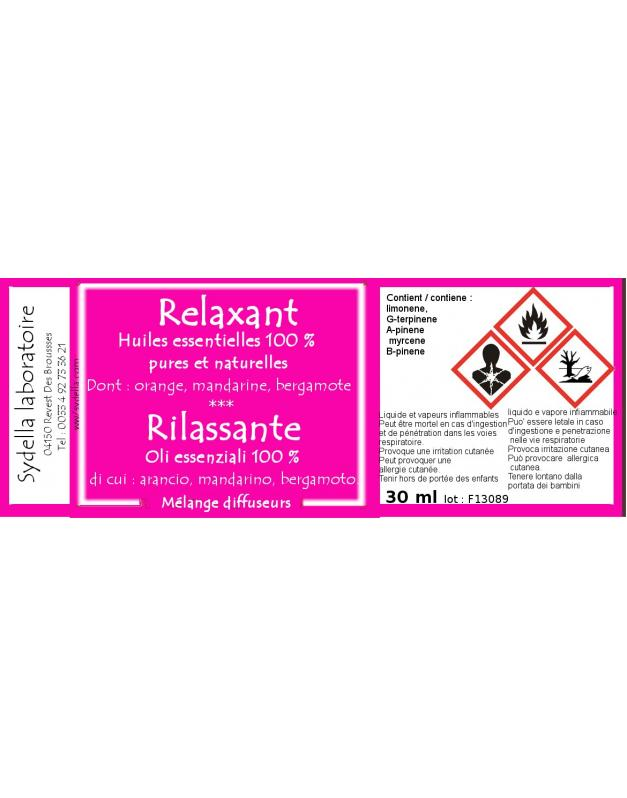 Relaxant - DIFFUSION
