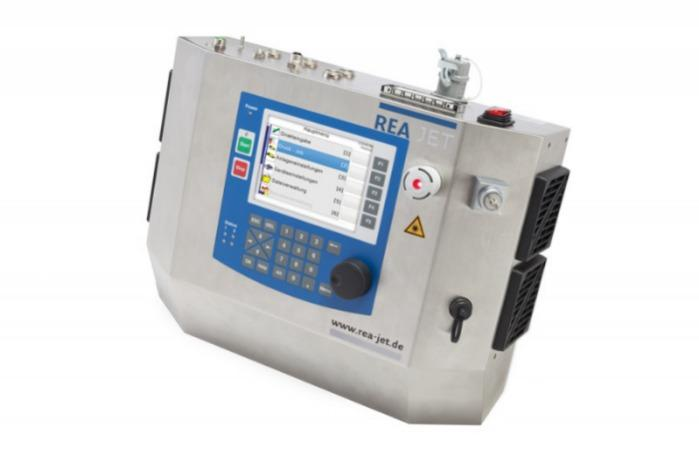 Laser marking system CL - REA JET CL - Marking of packaging, glass, wood, plastics as well as direct marking of foods