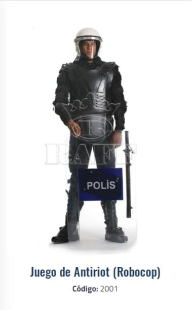 Robocop - Uniforme policial anti disturbios