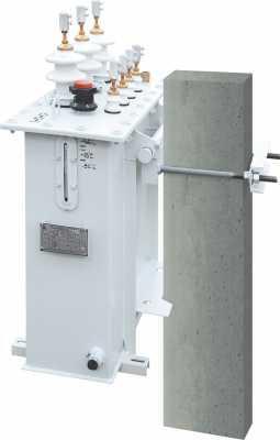 трансформатор ТМГ столбового исполнения