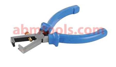 Wire Snip Pliers - Used to strip the electrical insulation from electric wires.