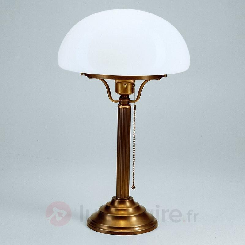 Lampe à poser classique HARI en laiton