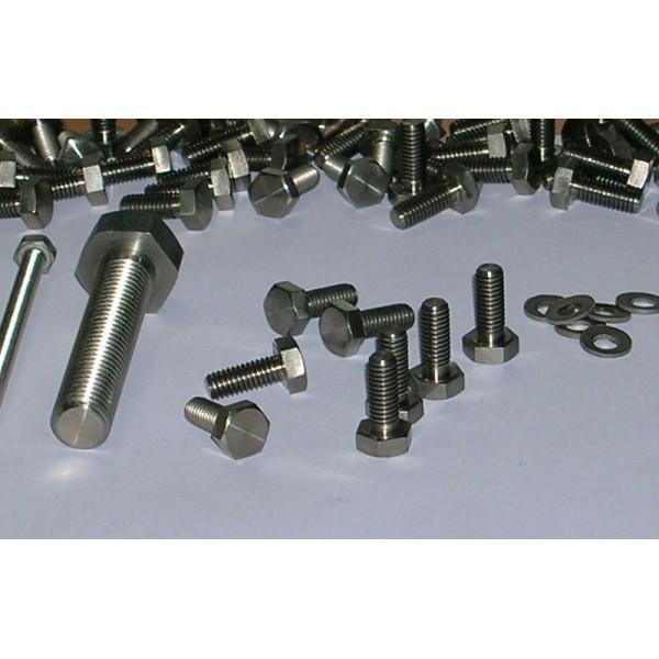Titanium fasteners and screws - M6 - Titanium fasteners and screws - M6