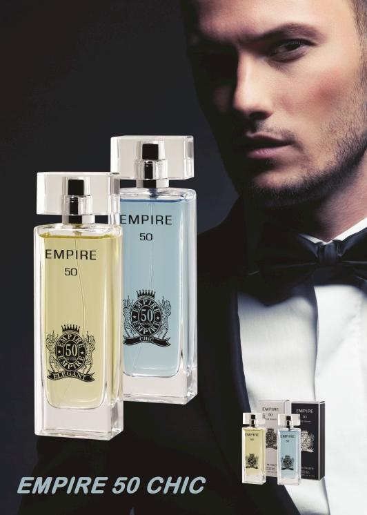 Parfums Pour lui - EMPIRE 50 CHIC